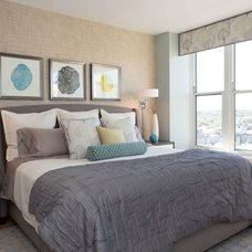 Contemporary Bedroom by Beth Interiors