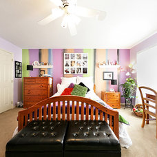 Contemporary Bedroom by CR Painting
