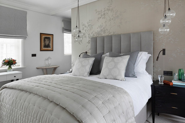 Transitional Bedroom by Studio Duggan Ltd