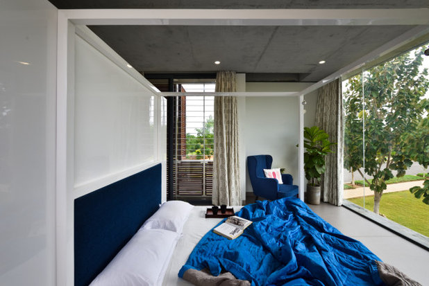 Contemporary Bedroom by ma+rs