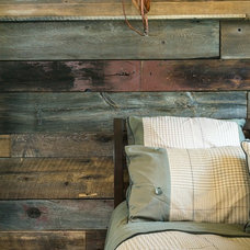 Farmhouse Bedroom by Upland Development, Inc.