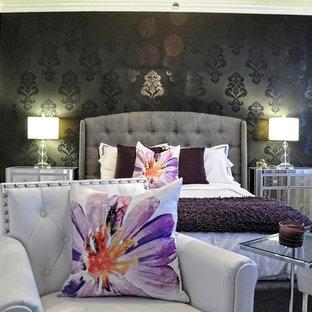 extraordinary hollywood glam purple bedroom | Hollywood Glam Bedroom | Houzz