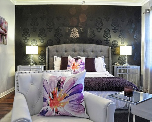 Hollywood Glam Bedroom   Houzz Part 15