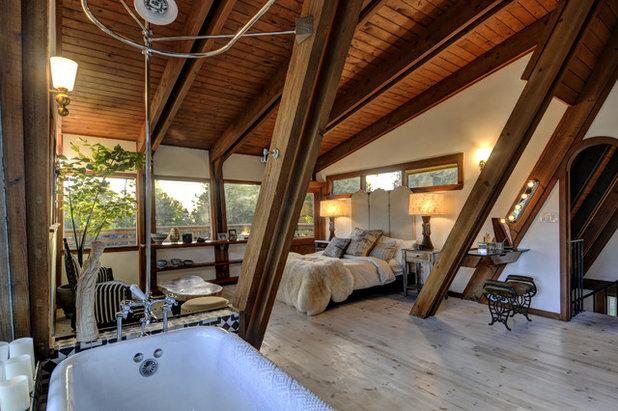 Rustic Bedroom by Bulson & Company, Inc.