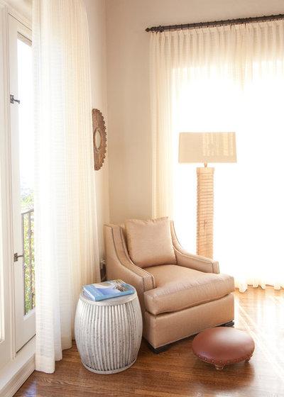 Transitional Bedroom by Laura U Interior Design