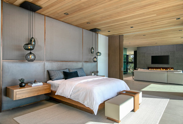 Modern Schlafzimmer by Michael Fullen Design Group