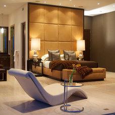Contemporary Bedroom by Robert Puleo Design