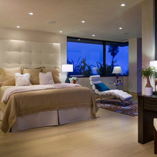 Contemporary Bedroom by SoCal Contractor