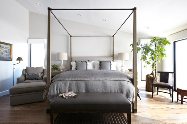 Traditional Bedroom by Janette Mallory Interior Design Inc.