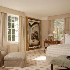 Contemporary Bedroom by Timothy Corrigan, Inc.