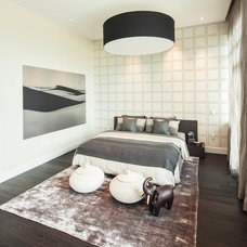 Contemporary Bedroom by Susan Manrao Design