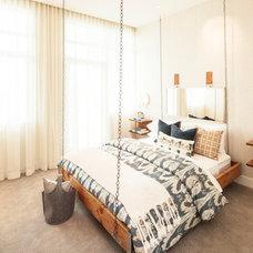 Contemporary Bedroom by Susan Manrao Design