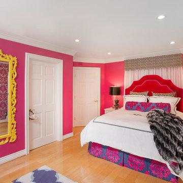 Hollywood Regency Girl's Bedroom
