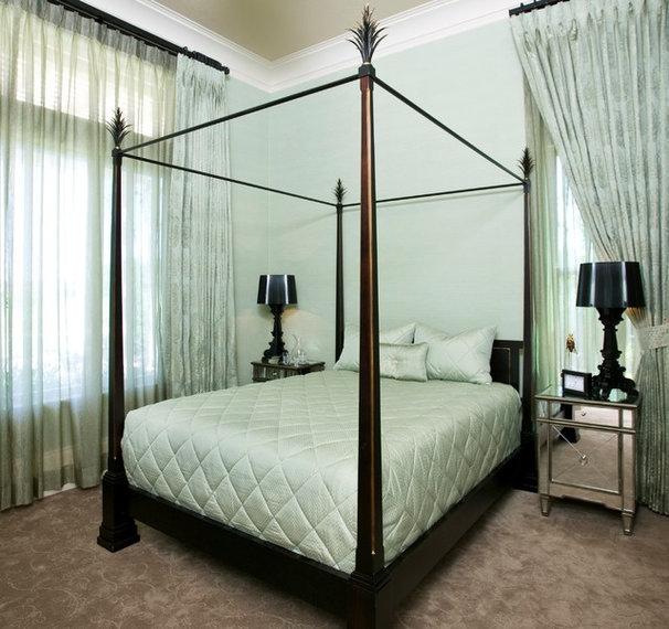 Contemporary Bedroom by Peg Berens Interior Design LLC