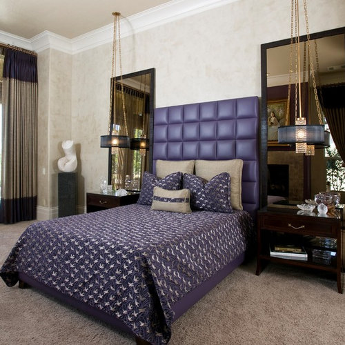 Nice Hollywood Regency Bedroom | Houzz Part 5