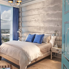 eclectic bedroom by DKOR Interiors Inc.- Interior Designers Miami, FL