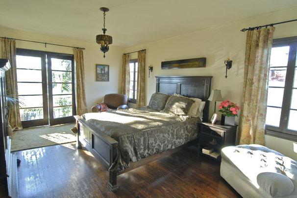 Mediterranean Bedroom by Brenda Olde