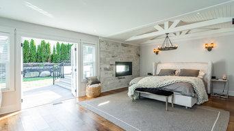 Home Addition in Surrey – Master Bedroom