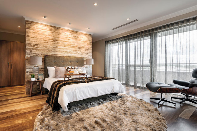 Contemporary Bedroom by Webb & Brown-Neaves