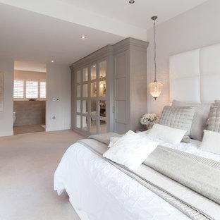Grey Cream Bedroom Ideas And Photos Houzz