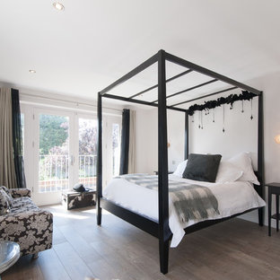 Black Four Poster Bed Houzz