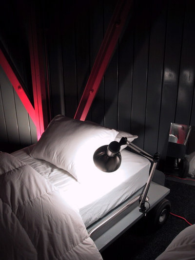 Industrial Bedroom by Alexander Michael & Assoc