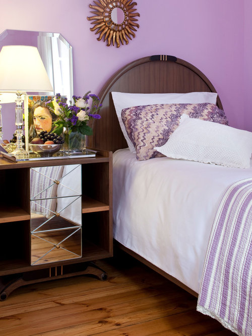 purple bedroom mediterranean matching - photo #12