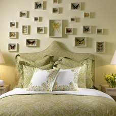Traditional Bedroom by Edward Lobrano Interior Design Inc.