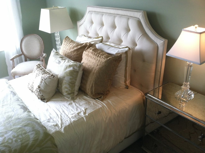Transitional Bedroom by Kerry Crosby, Ethan Allen Lexington