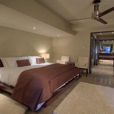 Contemporary Bedroom by London Audio Ltd