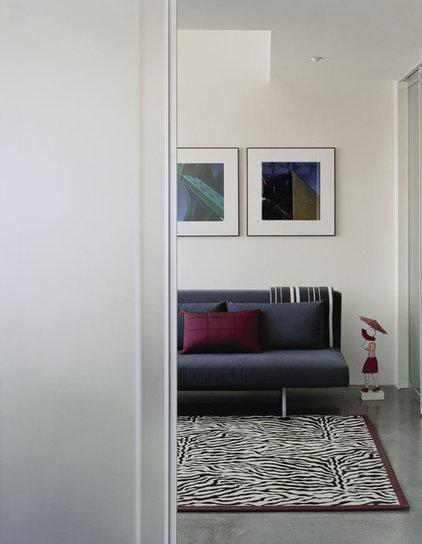 Modern Bedroom by Kristen Rivoli Interior Design