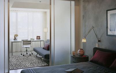 Спальня с рабочим местом: Правила обустройства