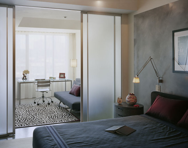 Modern Bedroom by Kristen Rivoli Interior Design