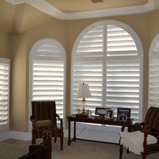 Traditional Bedroom by Universal Window Coverings, LLC