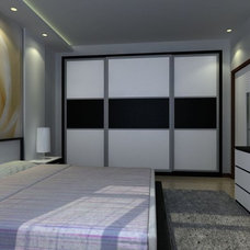 Asian Bedroom home space