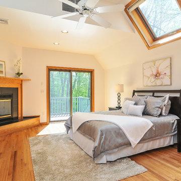 Home Staging After: Master Bedroom