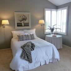 Beach Style Bedroom by Andrea Lorraine Design