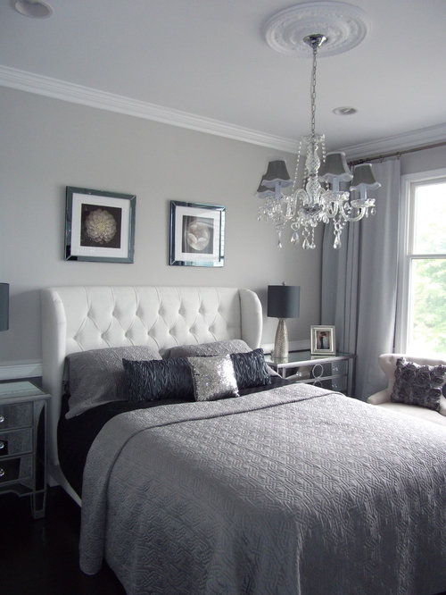 Silver Bedroom Home Design Ideas Pictures Remodel And Decor