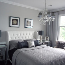 Modern Bedroom by DYS Home staging in N.J. by Yaxy  (908)7649593