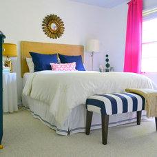 Contemporary Bedroom by Jae Vinson