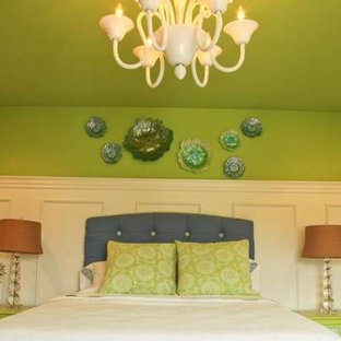Inspiration for an eclectic bedroom remodel in Louisville