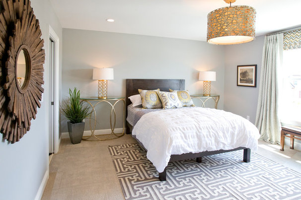 Contemporary Bedroom by Lady of the HOUSE interior design