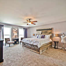 Traditional Bedroom by Adam Miller Homes
