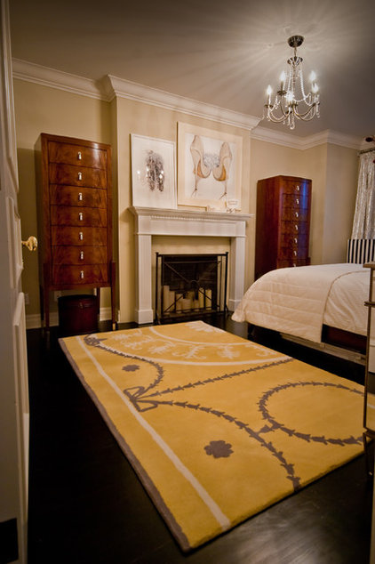 Traditional Bedroom by Lucid Interior Design Inc.