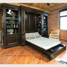 Traditional Bedroom Horchow murphy bed....