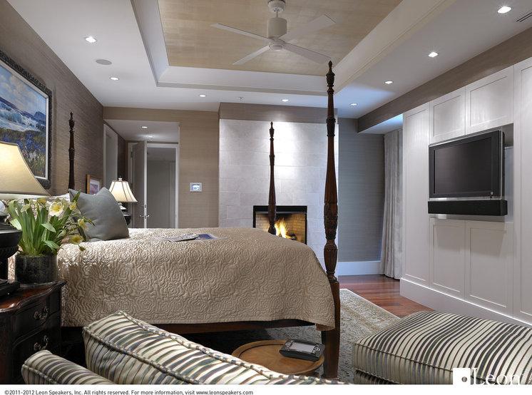 Modern Bedroom by Leon Speakers, Inc.