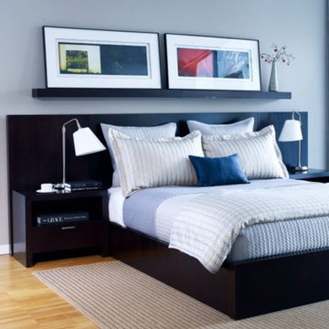 horizons studio morgan bed with side panels