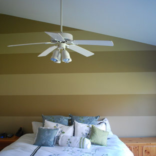 Design ideas for a traditional bedroom in Chicago.