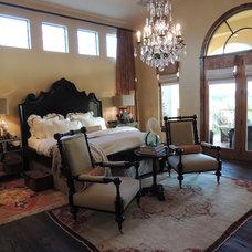 Mediterranean Bedroom by Trent Hultgren Design