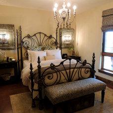 Mediterranean Bedroom by Trent Hultgren/Cabana Casa